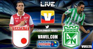 Santa Fe vs Atlético Nacional en vivo online en la Superliga 2015