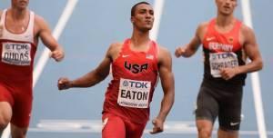Décathlon : Eaton déjà en tête, Mayer 15ème