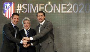 """Simeone: """"En la vida no es fácil elegir y yo elijo estar en el Atlético de Madrid"""""""