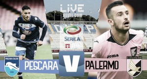 Terminata Pescara - Palermo in Serie A 2016/17 (2-0): Decisivi i gol di Muric e Mitrita
