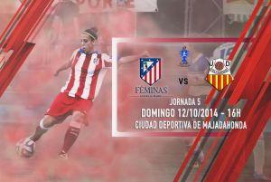 Atlético de Madrid Féminas - UD Collerense: convertir la victoria en rutina
