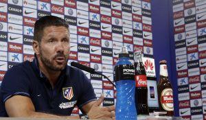 """Simeone: """"Lo único que necesito es un estadio entregado con sus jugadores"""""""