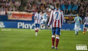 Atlético - Málaga: paso a Giménez y a Griezmann