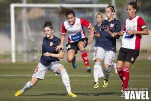 El Atlético Féminas se deja dos puntos en el descuento