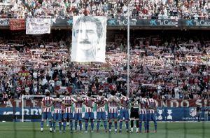 La afición del Atlético de Madrid quiere homenajear a Arteche contra el Espanyol