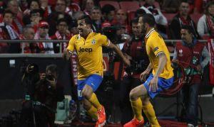 Tevez da luz a la Juventus en Lisboa