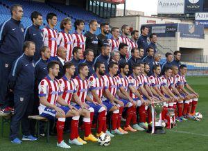 El Atlético de Madrid se hizo la foto oficial de la temporada