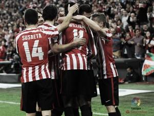 El Athletic se lleva el derbi ante el Eibar
