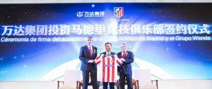 Wang Jianlin entra en el accionariado del Atlético de Madrid con una inversión de 45 millones