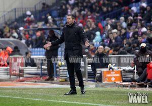 """Simeone: """"Somos un equipo molesto que hemos roto la hegemonía de Madrid y Barça"""""""