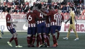 El Atlético B cuenta hasta diez