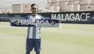 """Boulahroud: """"Doy las gracias al Málaga por la confianza que me han dado"""""""