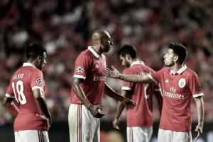 SL Benfica - CSKA (2-1): Noite 'gelada' na Luz