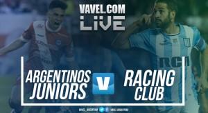 Resumen Argentinos Juniors 2-0 Racing por Superliga Argentina 2017