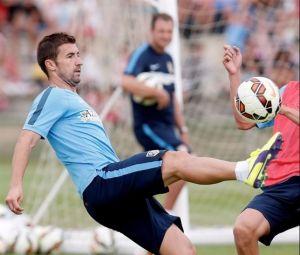 """Gabi: """"Hay que competir con los mejores, aunque es difícil porque los rivales se refuerzan muy bien"""""""