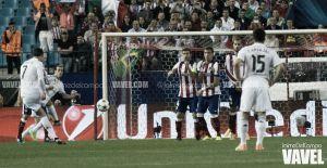 El Real Madrid encuentra kriptonita en el Vicente Calderón