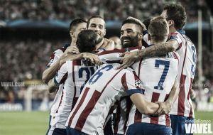 El Atlético vence en una noche de estrenos