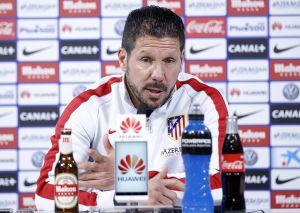 """Simeone: """"El partido de mañana es más importante que el del Barcelona"""""""