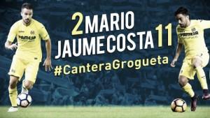 Mario Gaspar y Jaume Costa renuevan con el Villarreal