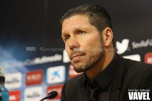 """Simeone: """"Es un buen punto contra un rival directo"""""""