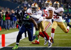 Seattle avanza a la Super Bowl de la mano de Lynch y Wilson