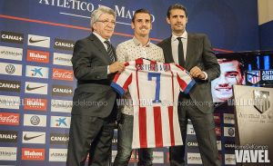 """Griezmann: """"Cuando me llamó el Atlético no me lo pensé, es el campeón de Liga"""""""