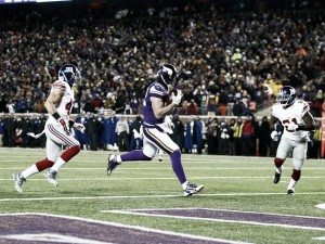 Vikings vence a Giants y ya son equipo de playoffs