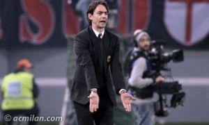 Inzaghi vibra empate heroico do Milan: ''Estou muito orgulhoso deles''