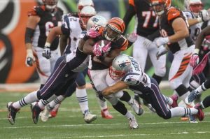 Cincinnati rompe la racha ganadora de Tom Brady y de sus Patriots