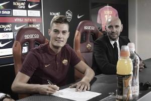 """Roma - Le prime parole di Schick: """"Sto bene. Questa squadra ha tante ambizioni"""""""