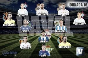 El Once de Oro de VAVEL: decimosexta jornada de la Liga BBVA