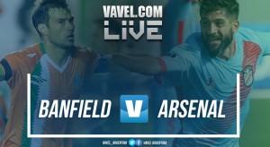 Banfield vs Arsenal en vivo online por Superliga Argentina 2017