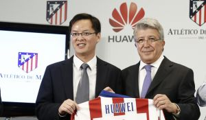 Huawei renueva su confianza con el Atlético de Madrid