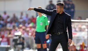 """Simeone: """"El equipo jugó el partido que tenía que jugar"""""""