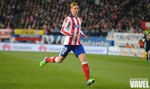Fernando Torres 'redebuta' con el Atlético de Madrid
