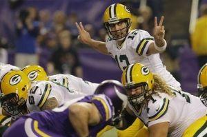 Los Packers salen victoriosos de su visita a Minnesota