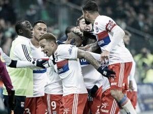 El Lyon goleó en el Derby
