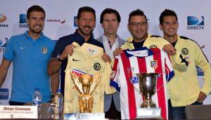 """Simeone: """"La Copa Euroamericana nos ayudó a conseguir un buen resultado en la Liga"""""""