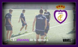 El planning semanal del Real Jaén