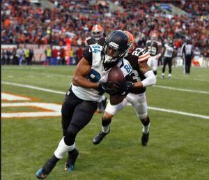 La exhibición de Josh Gordon no evita una inesperada victoria de los Jaguars