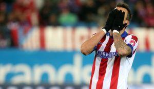 El Atlético de Madrid tropieza y no cierra el año invicto en el Calderón