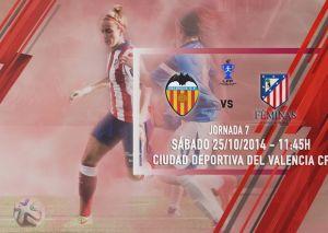 Valencia - Atlético de Madrid Féminas: una oportunidad de oro