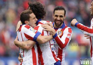 El Atlético de Madrid recupera la precisión