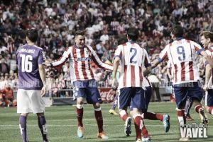 El Atlético de Madrid no falla en el Vicente Calderón