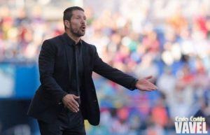 """Simeone: """"Dependemos de nosotros mismos"""""""
