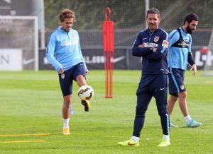 """Simeone abronca al equipo: """"Me importa un huevo lo de las selecciones"""""""