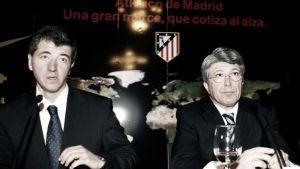 El falso discurso de la bicefalia del Atlético de Madrid