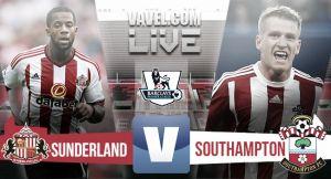 Resultado Sunderland vs Southampton en Premier 2015 (0-1)