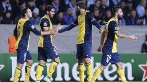 El Atlético de Madrid lidera su grupo en Champions League