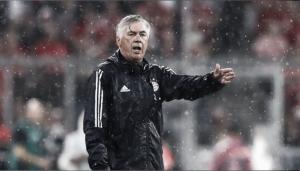 """Carlo Ancelotti prega otimismo após vitória tranquila do Bayern: """"Continuaremos a melhorar"""""""